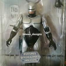"""25th Anniversary NECA RoboCop 80s Spring Loaded Holster 7""""Action Figure Reel Toy"""