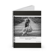 Notebook Journal Daily Planner  - w/ Ruled Line Paper
