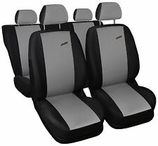 Car seat covers fit Volkswagen Passat B5 - XR black/grey full set sport style