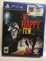 We Happy Few (PS4,Sony PlayStation 4,2018) Brand New Factory Sealed! USA!