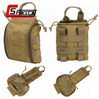 Tactical MOLLE Medical Pouch IFAK EMT Utility EDC Tools First Aid Bag Military
