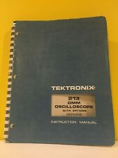 Tektronix 070-1481-00 213 DMM Oscilloscope with Options Service Instructions