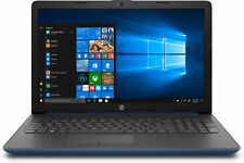 Portatil HP 15-da0017ns I3-7020u 2.3ghz 4GB 128GB SSD 15.6 W10 azul plata