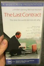 The Last Contract VHS VIDEO TAPE (1998 Swedish thriller movie) rare