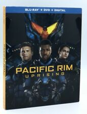 Pacific Rim: Uprising (Blu-ray+DVD+Digital HD, 2018) New w/ Slipcover
