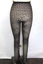 New Anthropologie By Eloise Womens Kite Pattern Hi-Waist Sheer Stockings M/L $38
