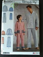 Patrón de costura simplicidad fácil para niños 1575 Pijamas Ropa para dormir simplicidad - 1...