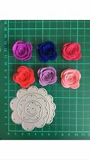D033 Rolled Flower Thinlits Cutting Dies For Sizzix Spellbinders Etc. Cutter