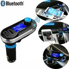 Car Kit Wireless Bluetooth FM Transmitter Radio MP3 Music Player With 2 USB Port