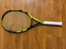 Babolat Pure Aero Team Tennis Racquet, STRUNG, Grip 4 1/4