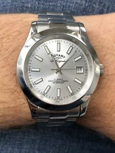 Men's Rotary Les Originales Verbier Swiss Automatic Sapphire Watch GB08150/06