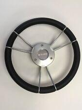 New OEM Gussi Boat Steering Wheel M930 Gray Hub & Spokes w/Self Leveling Center