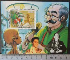 2003 elvis disney puppets pinocchio cinema cartoons souvenir sheet MNH #1