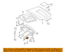 FORD OEM 94-04 Mustang Hood-Lock Latch Support F4ZZ16707A
