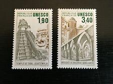France-UNESCO 1986 patrimoine mondial Set ma Yv91-92 (J1018)