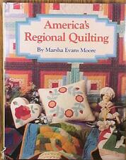 Americas Regional Quilting Book Nice Patterns Pictures 1992