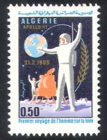 Algeria 1969 Space/Astronaut/Man on Moon/Lander/Transport 1v (n39214)