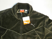 Puma Men Medium Warm Up Black Sports Jacket Windbreaker M Brand New with Tags