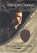 """Vampire Diaries - M1 Paul Wesley """"Stefan Salvatore"""" Costume Card"""