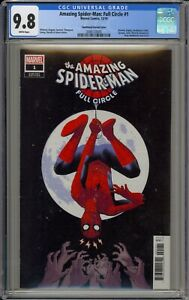 AMAZING SPIDER-MAN: FULL CIRCLE #1 - CGC 9.8 - SMALLWOOD VARIANT - 2086133005