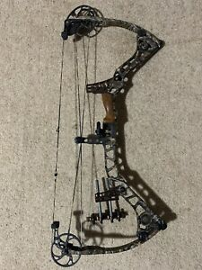 Mathews Reezen 6.5 Right hand Camo Compound bow 40lbs to 70lbs draw length 24-30