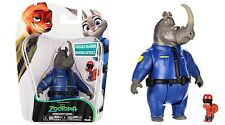 DISNEY ZOOTROPOLIS ZOOTOPIA BLISTER 2 PACK TOMY OFFICER MCHORN & SAFETY SQUIRREL