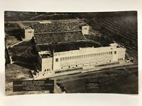 Vintage 1924 University of Illinois vs. Michigan Memorial Stadium RPPC Postcard