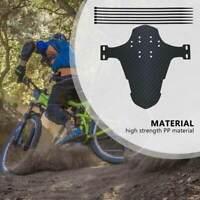Parafango parafanghi Bici Bicicletta MTB Anteriore Posteriore Fango Fenders Nero