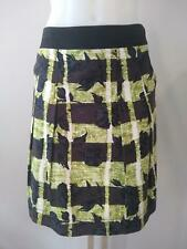 ETCETERA ROSES PRINT BRUSHED COTTON PLEATED SKIRT size 8 NWT $155