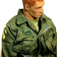 1:6 U.S. Army Uniform Shirt 21st Century Toys WWII The Ultimate Soldier Figure