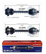 For Audi A4 S4 VW Passat AWD & FWD 96-05 Set of 2 Front CV Axle Shafts SurTrack