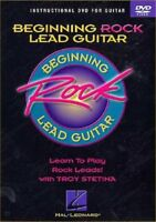 Beginning Rock Lead Guitar [New DVD]