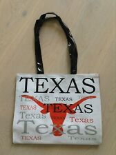 Womens Texas Plastic/Pvc shoulder Tote Bag fab cond