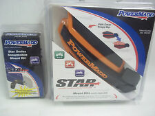 POWERMADD HANDGUARD AND SNOWMOBILE MOUNTS KTM ORANGE