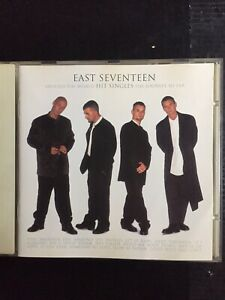 East Seventeen 17 Around The World Greatest Hits Singles Used 17 Track Best Cd.
