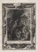 Orpheus Eurydice Eurydike Greek Mythologie mythology Kupferstich etching Picart