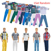 "Handmade T shirt +Clothes Outfit for 11""  Doll  Boyfriend Ken Doll #K"