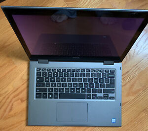 Dell Inspiron 13 5378  i3-7100U Series 500GB SSD HD 2-In-1 Laptop - Gray - Nice