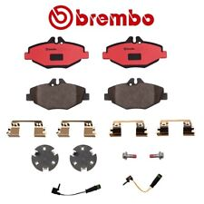 Brembo Front Disc Brake Pad Set Sensor For Mercedes e320 Base e320 Bluetec CDI