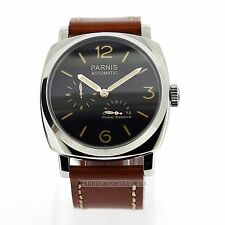 PARNIS Automatic 47mm Seagull Power Reserve Watch NEW UK with gift box PAM