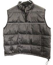 DKNY Tech Puffy Down Vest Vintage XL TNF Supreme