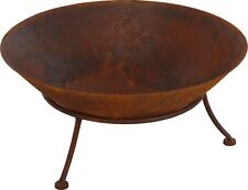 Cast Iron Outdoor Fire Pit Bowl Round Patio Fire LARGE Outdoor Fire Pit 57 cm