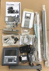 Machine-DRO Myford ML7 Super 7 Easson ES-12B LCD DRO Linear Scale Kit