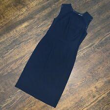 Jil Sander NWT Sleeveless Sheath Dress Sz M US 38 Blue