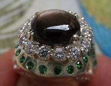Natürliche Echte Edelstein-Ringe mit Saphir und Cabochon