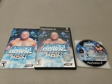WWE Smackdown Here Comes The Pain- PlayStation 2
