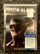 Pitch Black (Dvd, 2004, Unrated, Directors Cut) Brand New Sealed Vin Diesel