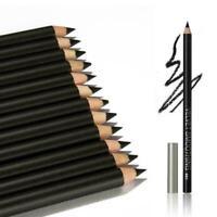 12 PCS Wasserdicht Eye Liner Schönheit Kosmetische Schatten s/ Schwarz Blei W4I8