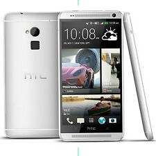 HTC One Max DUAL SIM 32GB Unlocked Silver 5.9'' Android Mobile Phone UK SELLER