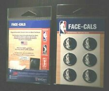 REDUCED NWT Dallas Mavericks FACE-CALS Officially Licensed NBA AMICO face decals